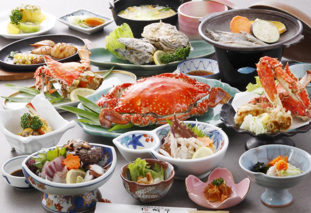 竹崎カニコース(昼食)